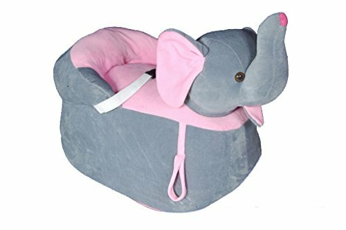 SANA Elephant Shape Imported Premium Quality Soft Toy Chair/seat for Baby Sitting/Soft Toy Chair for Kids Birthday