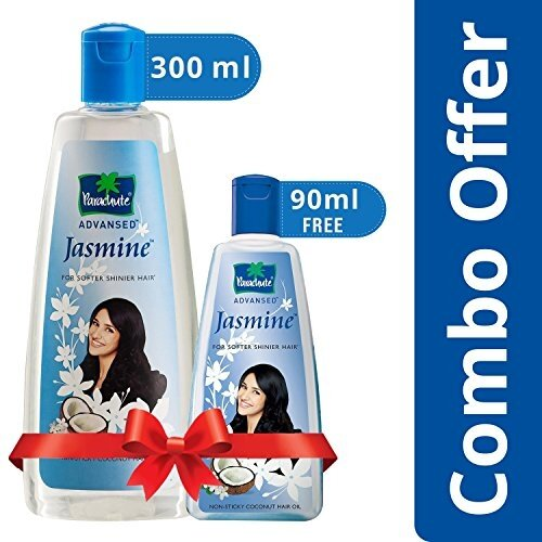 Parachute Jasmine Coconut Hair Oil 300ml – free 90ml