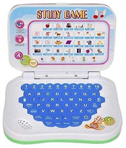 Parteet Educational Multicolour Mini Laptop with Sound for Kids